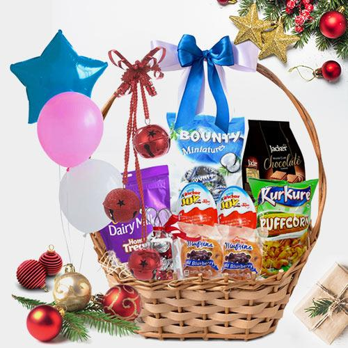 Christmas Wishes Treat Basket