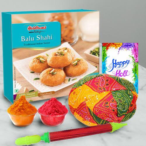 Delightful Happy Holi Gift Hamper