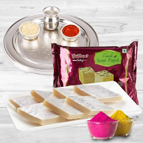 Sweet Gift Hamper for Holi