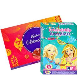 Lip-Smacking Cadbury Celebration with Barbie Bracelet