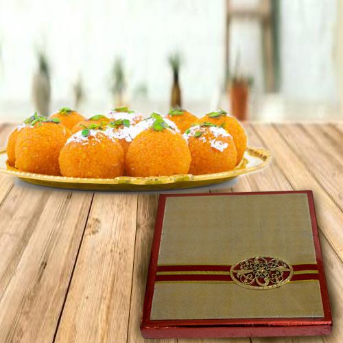 Buy Mixed Dry Fruits with Haldirams Boondi Ladoo