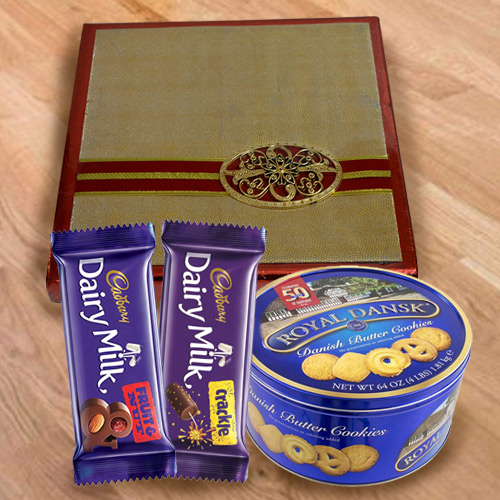 Online Assorted Dry Fruits with Cookies N Chocolates