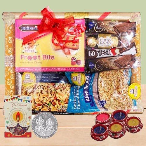 Authentic Sweets N Savory Diwali Hamper