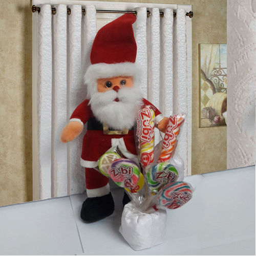 Delightful Santa Claus n Assorted Candies