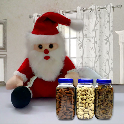 Dry Fruits n Santa Claus Soft Toy