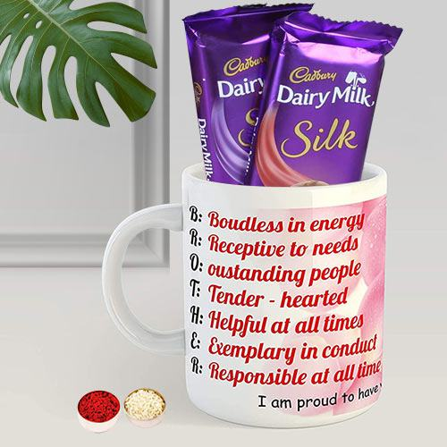 Coffe Mug N Cadbury Silk
