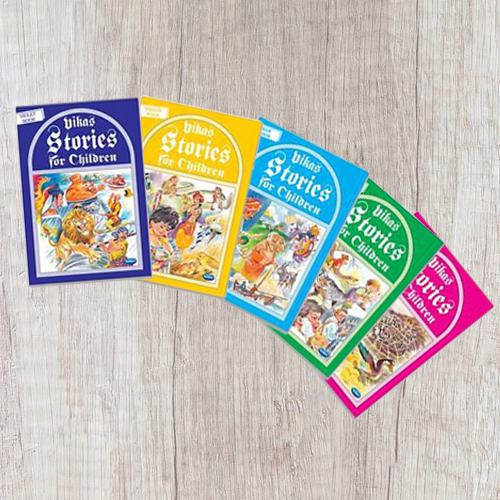 5 pcs Story Books Set for Kids