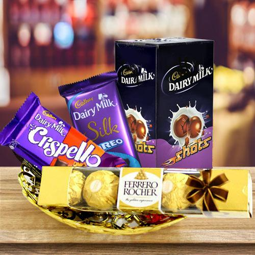 Classic Celebration Hamper of Chocolates