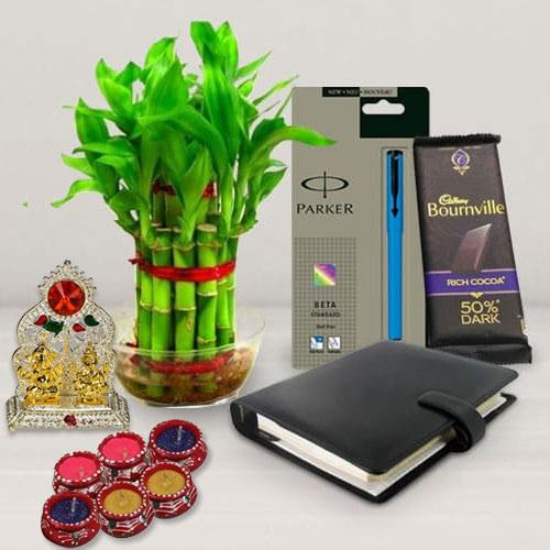 Eco Friendly Diwali Gift Combo for Luck n Prosperity