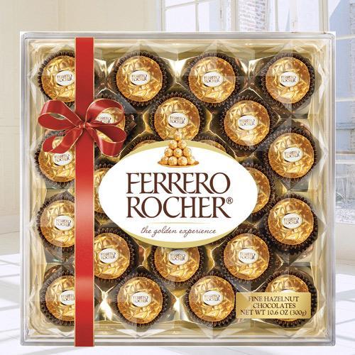 Delectable Ferrero Rocher Chocolate Box