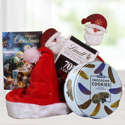 Yummy Christmas Chocos n Cookies Combo