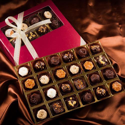 Yummy Handmade Rum filled Chocolate Box