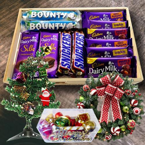 Exclusive Chocos N Assortments Gift Hamper for XMas Day
