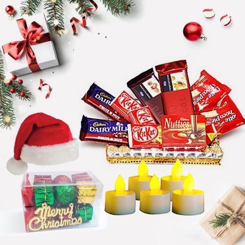 Delectable Chocolates N Assortments Hamper