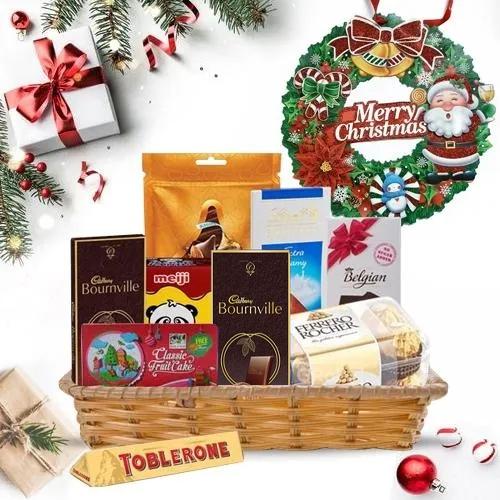 Lip-Smacking Chocolates Gift Basket