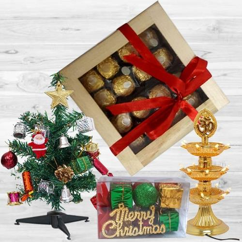 Marvelous Ferrero Rocher Chocos in a Wooden Box with Assortments