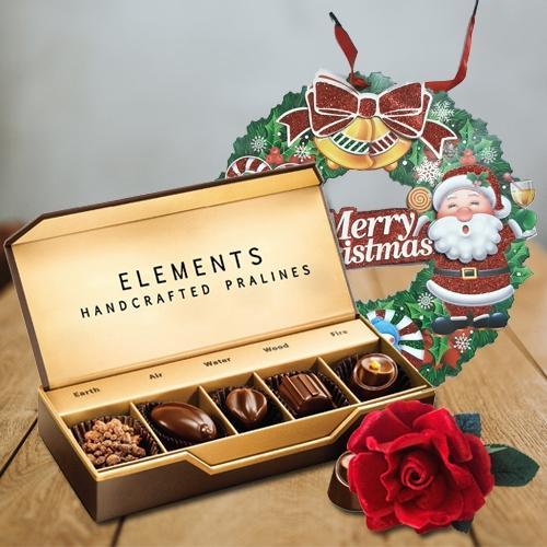 Marvelous ITC Elements Chocos with Velvet Rose N Wreath