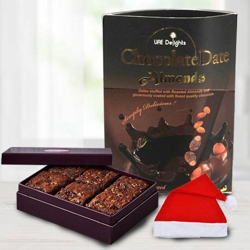 Marvelous Chocos Pack with Brownie N Santa Claus Cap