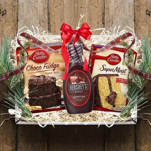Yummy Chocolate Cake Gift Hamper