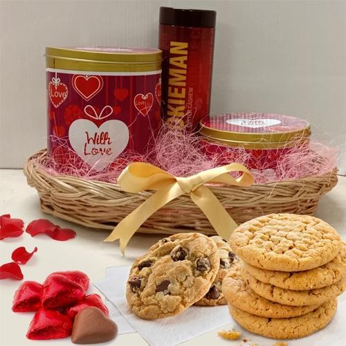 Wonderful Basket of Cookies N Chocolates