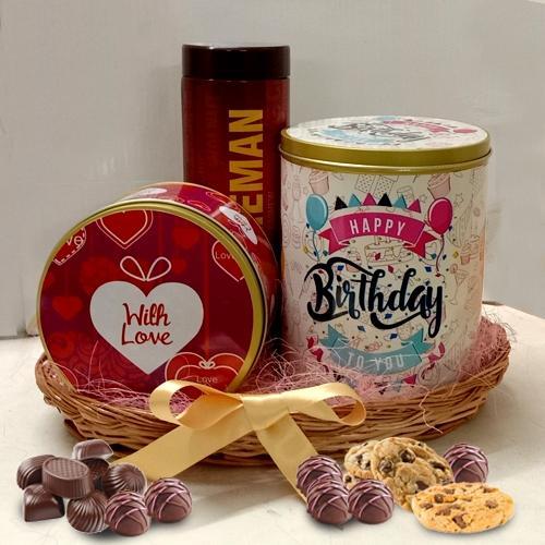 Yummy Chocos n Cookies Tin Box