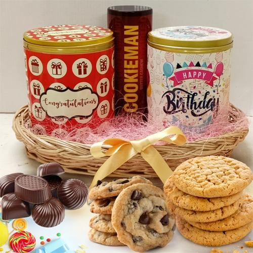 Delicious Cookies, Jellies N Chocos Trio