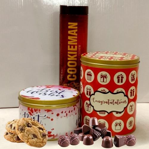 Marvelous Imported Cookies N Chocos Trio