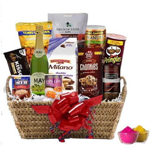 Wonderful Festival of Colors Food Assortments Gift Hamper