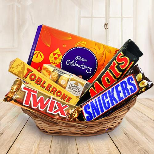 Gift Chocolate Basket Online