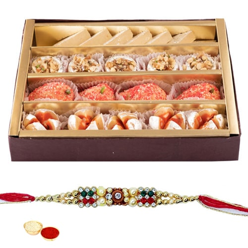Breathtaking Healthy Heartiest Rakhi Treat