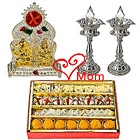 Charismatic Puja Hamper with Sweets with Warm Love