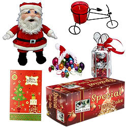 Glamorous Festive Hamper with Flavours of Christmas