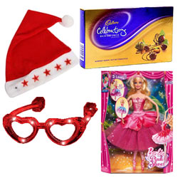 Mesmerizing Arrangement of Christmas Gift Items
