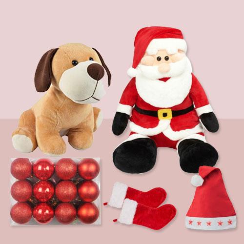 Delightful Arrangement of Christmas Accessories