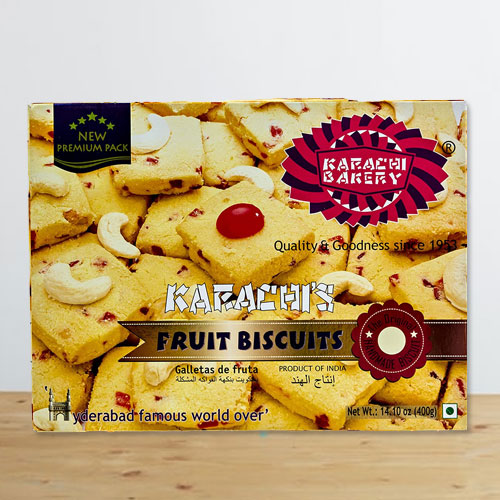 Crunchy Cookie Delight by Karachi Bakery