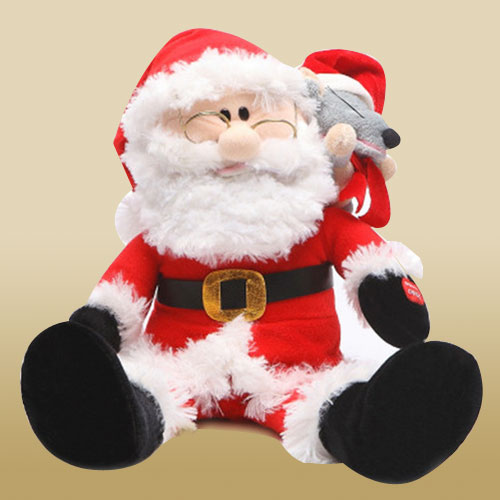 Adorable Santa Clause Soft Toy