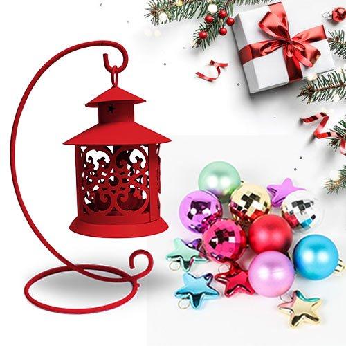 Enchanting Tea Light Holder with Santa N Decor