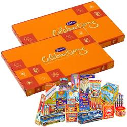 Dynamic Combo of Cadbury Celebration Pack and Crackers
