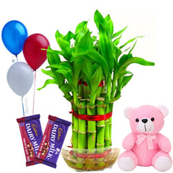 Majestic Love N Luck Hamper