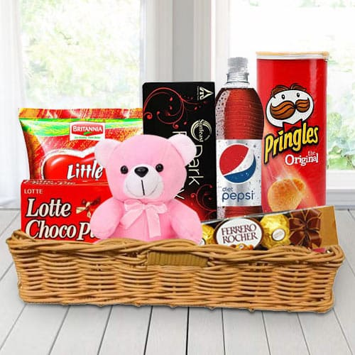 Gift Basket of Gourmet Treats