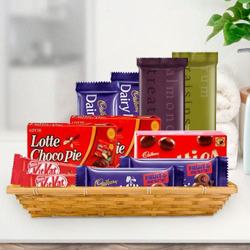 Buy Gift Basket of Assorted Chocolates