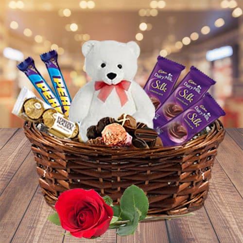 Sending Gourmet Gift Basket