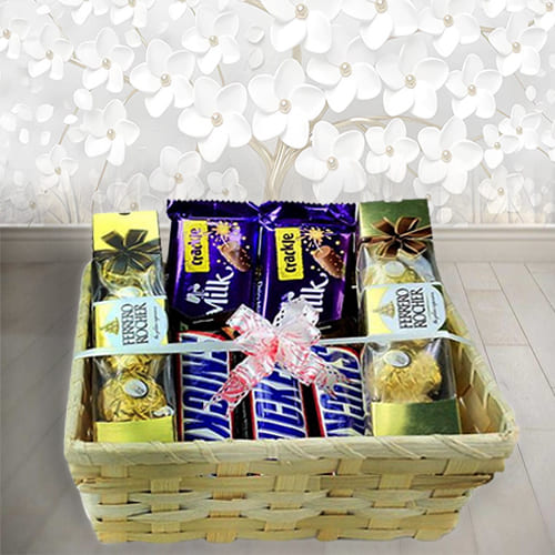 Online Tasty Chocolate Gift Basket