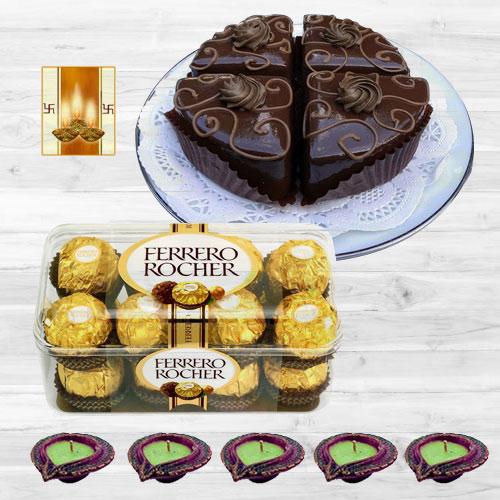 Diwali Gift of Chocolates n Pastries