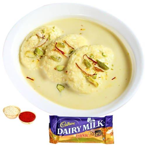 Cadbury Crackle N Rasmalai Combo