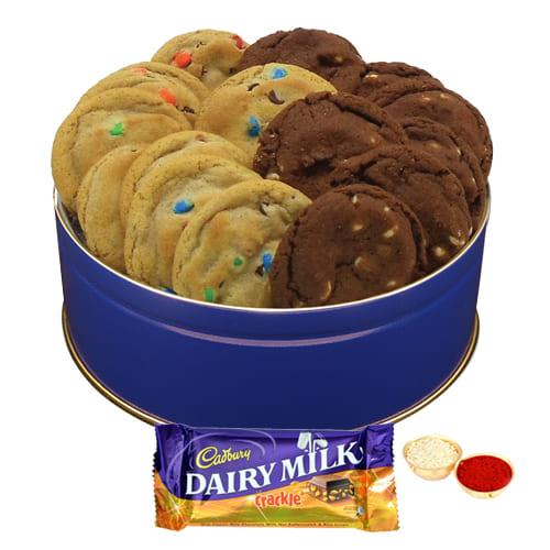 Dairy Milk Crackle N Mixed Cookies