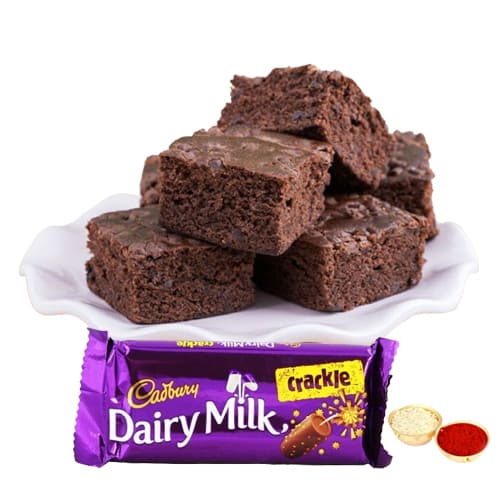 Cadbury Crackle N Brownie Combo