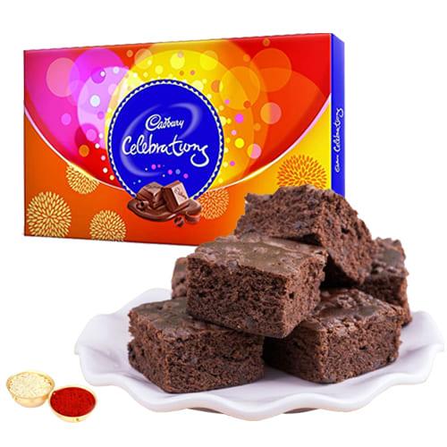 Brownie N Cadbury Celebrations Pack