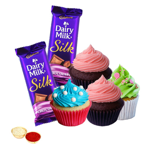 Cadbury Silk Chocos N Cup Cakes