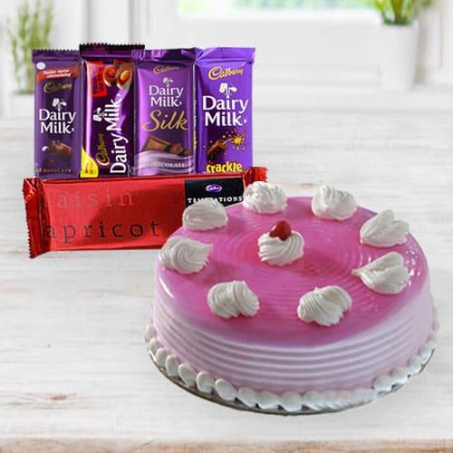 Buy Cake N Chocolates for Birthday
